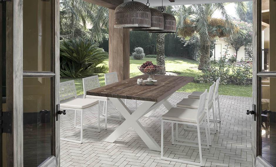 Mesas para comedores de exterior. | Decorar.net