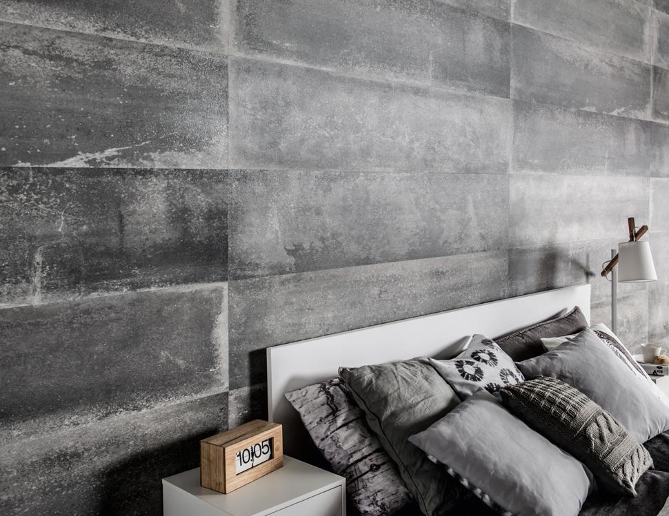Moderno y muy actual, este tipo de revestimiento de paredes.