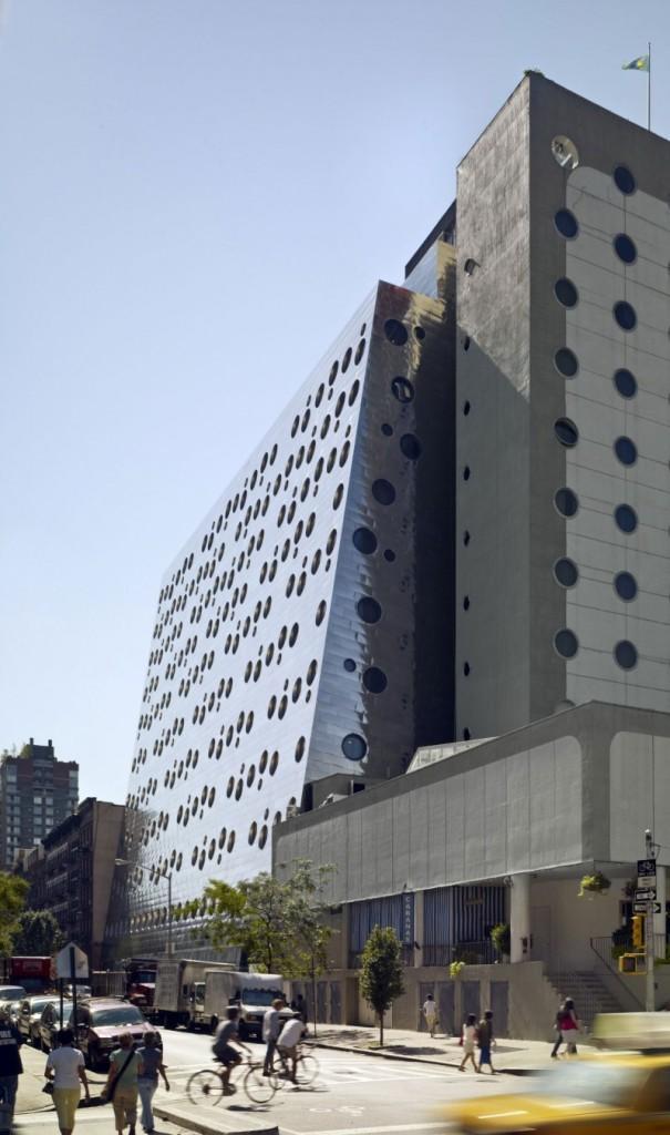 Imagen de una de las fachadas de este emblemático hotel.