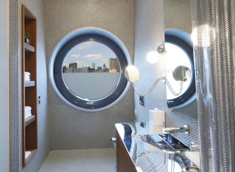 Las habitaciones cuentan con esplendidos cuartos de baño, con una original decoración.
