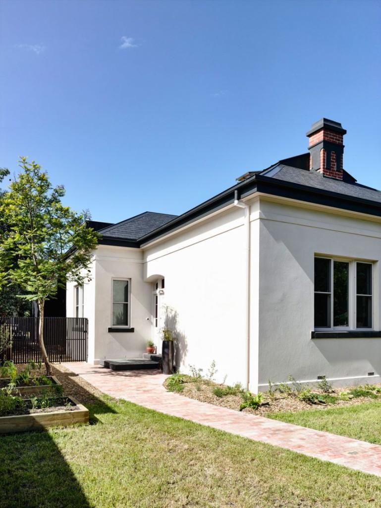 Algunas de las fachadas de esta propiedad, conserva aún su aspecto victoriano.