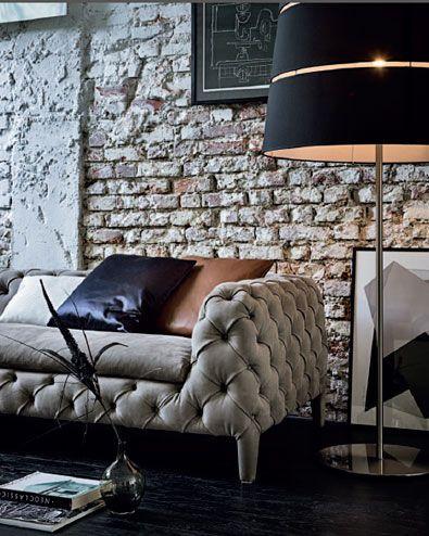 Los elementos de estilo contemporáneo con ricos acabados, otras de las opciones a combinar.