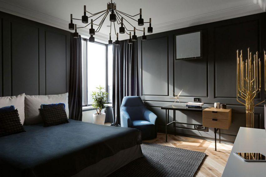 Lámparas de la firma Delightfull, decoran los dormitorios.