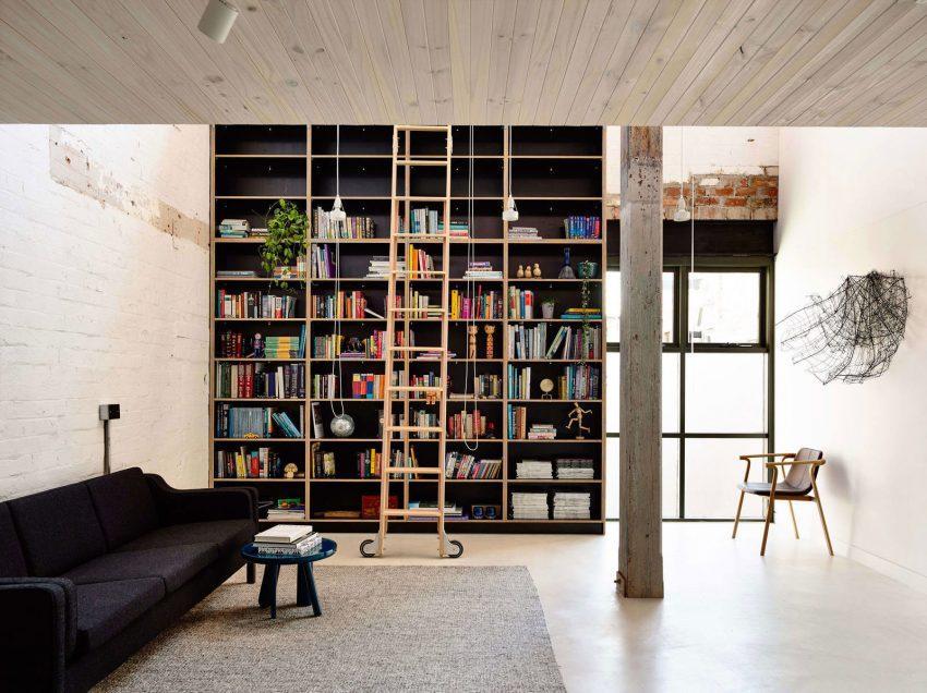 Un espacio dedicado a biblioteca.
