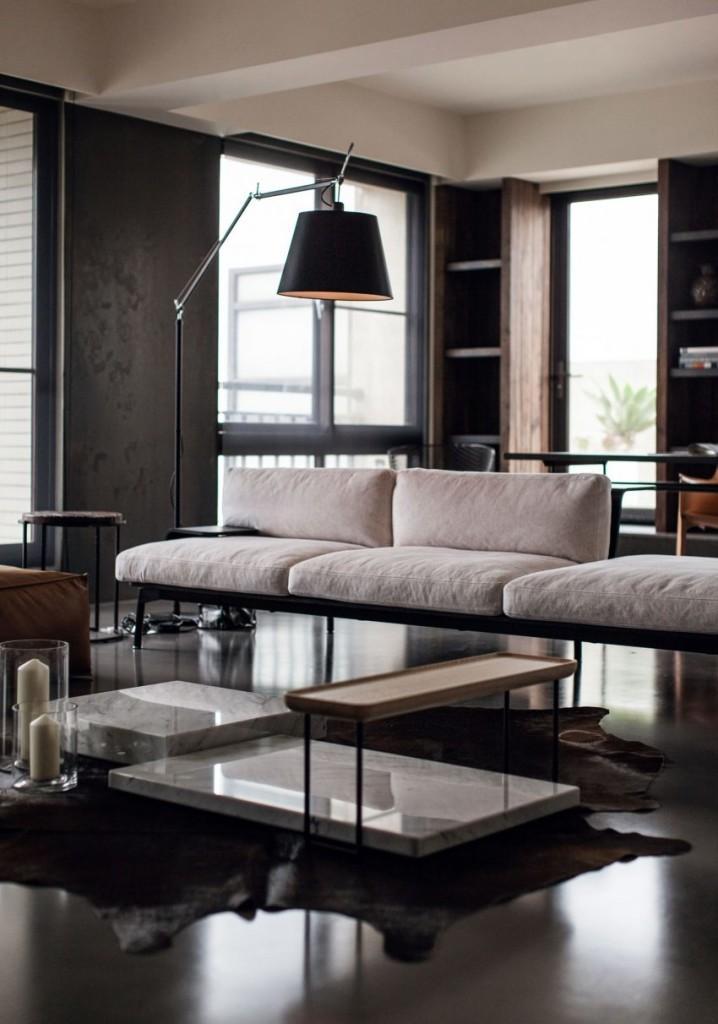 Elegancia sofisticación y sobriedad en la sencilla y acertada decoración.