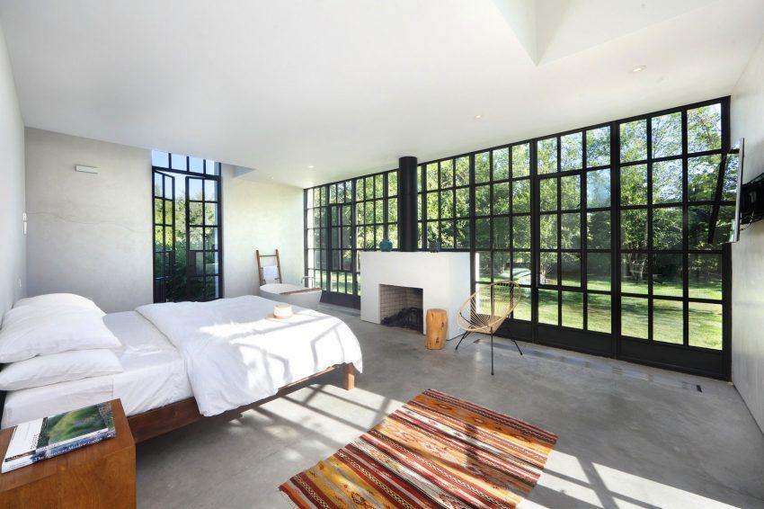 En la imagen, otro de los dormitorios de esta esplendida propiedad.