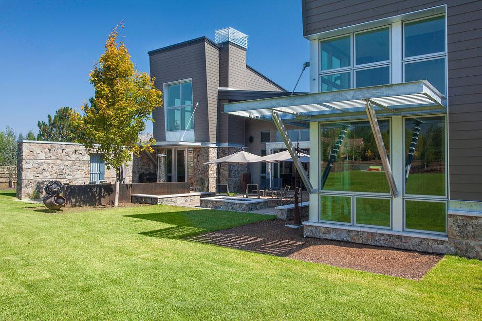 Imagen del exterior, de esta moderna propiedad.