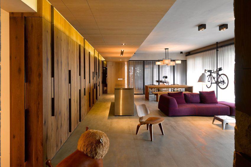 Imagen del amplio y espacioso salón comedor.