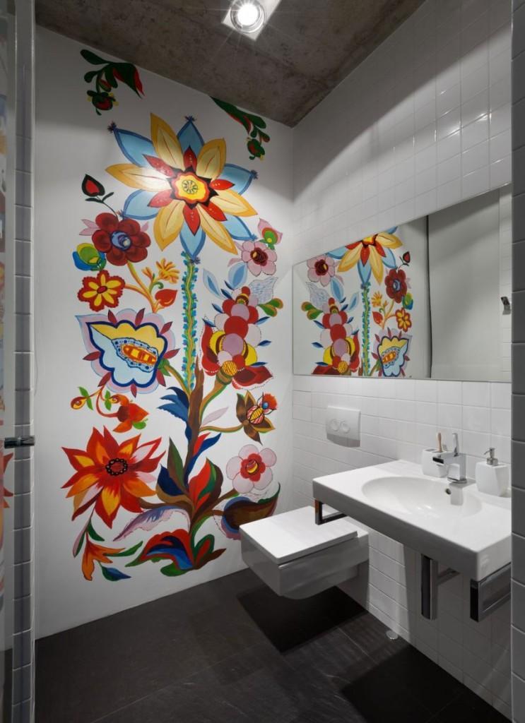 Vibrantes colores en el diseño del artista G. Sobachko-Shostak.