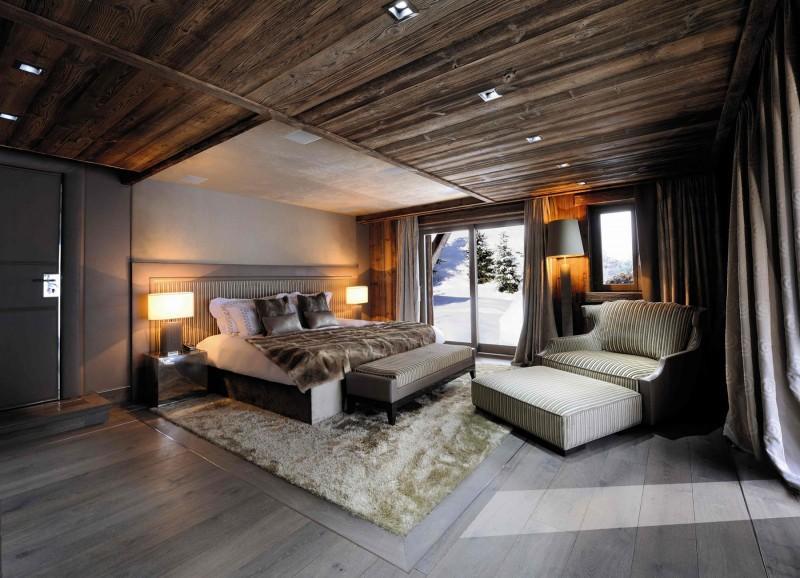 Imagen del acogedor dormitorio principal.