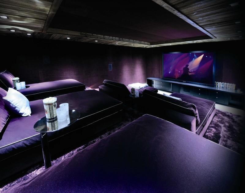Imagen de la espléndida sala de cine.