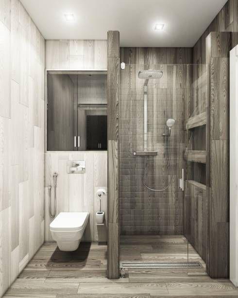 Con un acabado similar a la madera lavada, vemos la imitación de estos azulejos.
