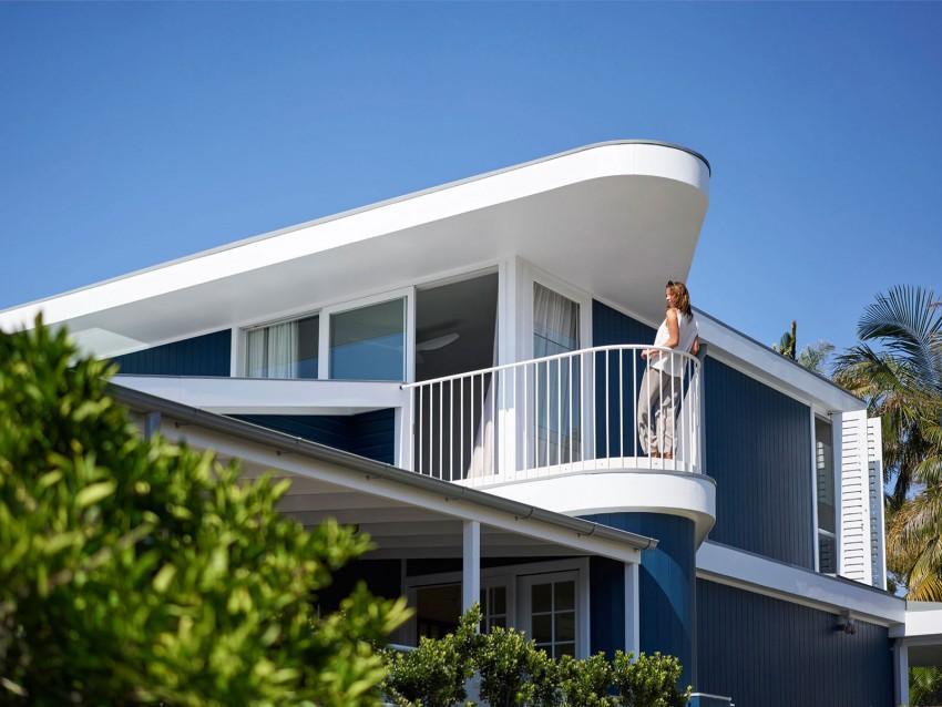 Tradición y modernidad, se unen en el diseño de esta confortable vivienda.