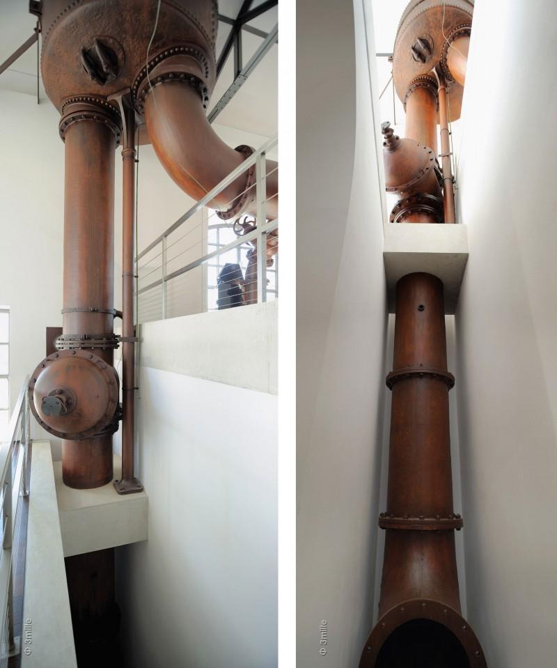 La maquinaria original se sigue conservando en algunos espacios del edificio.