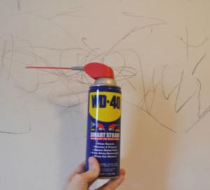 How-to-use-WD-40-to-remove-crayon-from-walls-