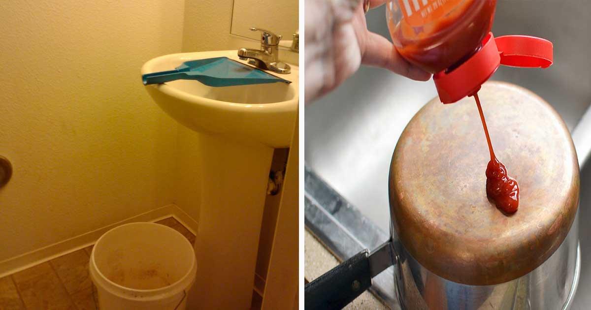 10 trucos para el cuarto de ba o para mantenerlo limpio y for Trucos para limpiar el bano